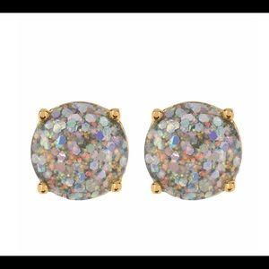 kate spade glitter opal gumdrop studs